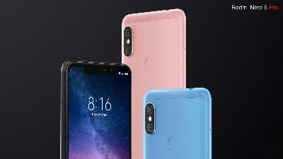 Xiaomi Redmi Note 6 Pro Terjual 600.000 Unit di Peluncuran India