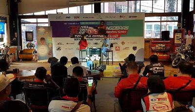 Toyota Owner Club Apresiasi Atlet Asian Para Games 2018