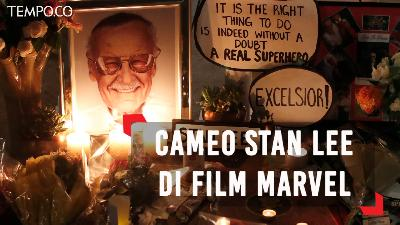 Cameo Stan Lee di Sejumlah Film Marvel 2000 - 2018