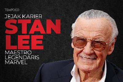 Jejak Karier Stan Lee, Maestro Legendaris Marvel