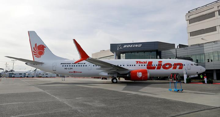 Boeing 737 MAX 8 Lion Air Thai [Business Insider]