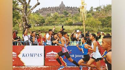 Ten Thousands Runners Join Borobudur Marathon 2019