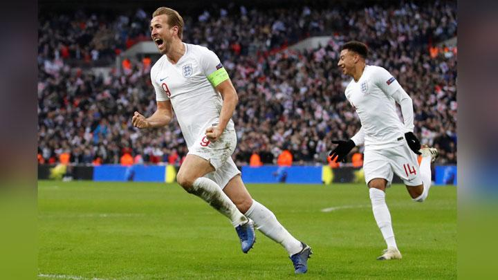 UEFA Nations League : Inggris Bungkam Kroasia 2-1 di Wembley
