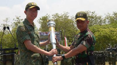 Sepekan Latihan Tempur TNI AD dan Singapores Armed Force