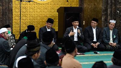 Jokowi Addresses String of Ulama Criminalization Accusations