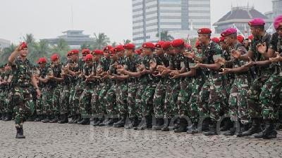 3 TNI's Elite Troops Ordered to Handle Urban Warfare