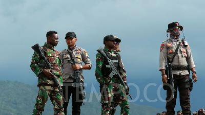 Three Papuan Armed Group Members Shot in Ilaga: TNI-Police Task Force