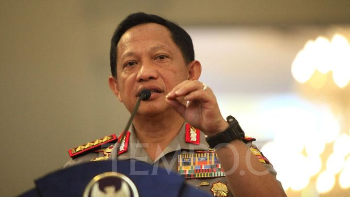 Indonesian National Police Chief General Tito Karnavian. TEMPO/Subekti