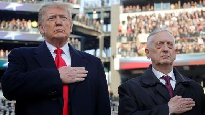 Mattis Quits in Disagreement with Trump Policies