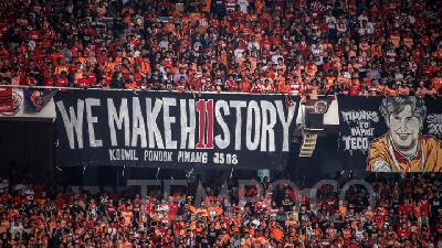 Persija Vs Ceres; Jakmania Banned to Visit GBK