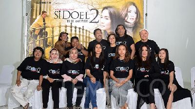 Maudy Koesnaedi Banyak Curhat di Si Doel The Movie 2