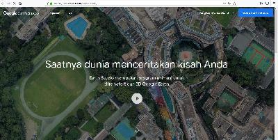 Google Rilis Aplikasi Animasi Google Earth Studio