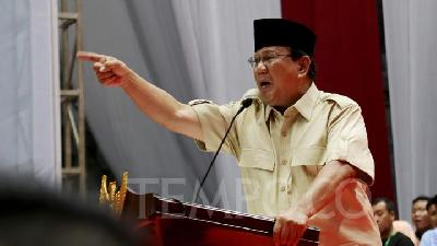 Prabowo Camp Reports Potential Double Voter Data to KPU
