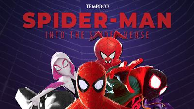6 Laba-laba Dalam Spider Man Into The Spider Verse