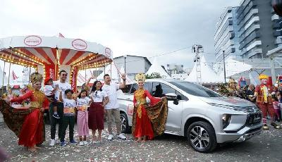 Program Mitsubishi Xpander Tons of Real Happiness Tiba di Bandung