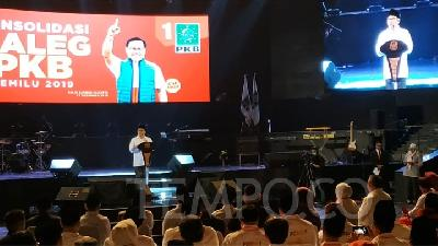 Jokowi Attends PKB Event in Commemoration of Gus Dur