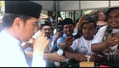 President Jokowi Shares The Recipe of His Healthy Daily Drink