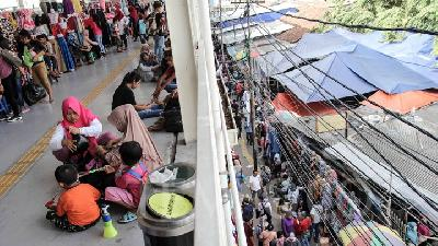 Tanah Abang Market Faces Rp200bn Loss due to Riot