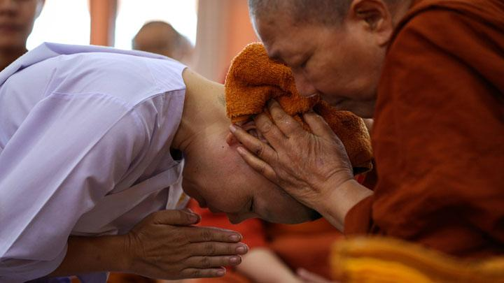 Thailand's Rebel Female Buddhist Monks Defy Tradition