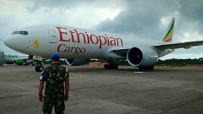 Ethiopian Airlines Trespass, TNI Commander Firmly Warns Others