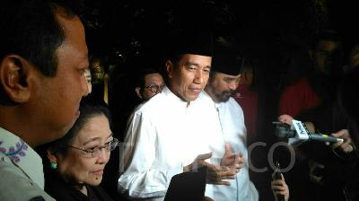 Normal Routine for Jokowi Upon Facing Presidential Debate