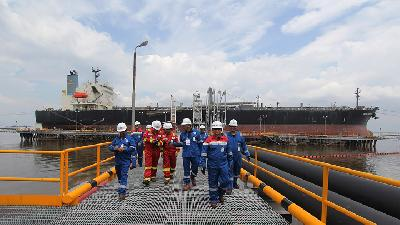 Pertamina Oil, Gas Production Jump 42 Percent in 2018