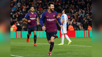 Messi Comes Off The Bench To Help Barcelona Sink Leganes