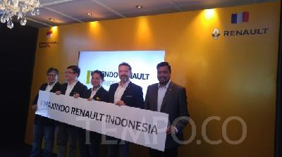 Renault, Maxindo to Develop Business in Indonesia
