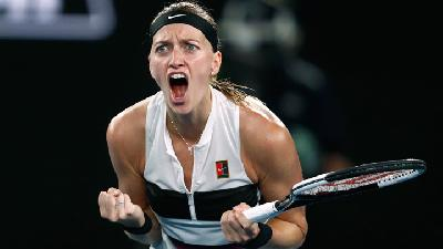 Kvitova Defeats Collins to Reach First Australian Open Final