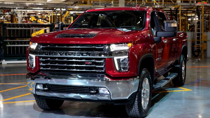 Saat Chevrolet Silverado Dibuat di Michigan AS