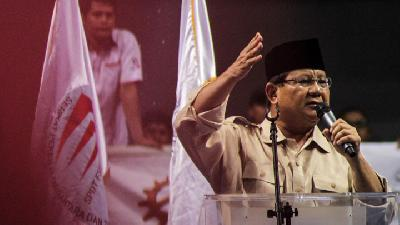 Prabowo: Economic Development on Wrong Path Since New Order Era