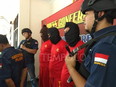 Bogor Police Apprehend 51 Drug Lords, Dealers within 10 Days