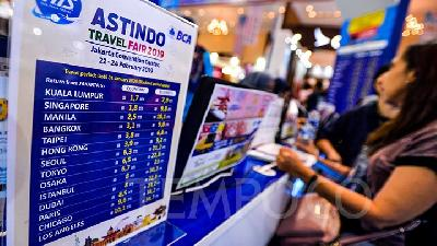 Berburu Tiket Murah, Yuk ke ASTINDO Travel Fair 2020
