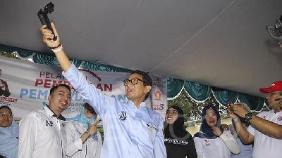Sandiaga Uno May Serve as Prabowo's Deputy: Gerindra