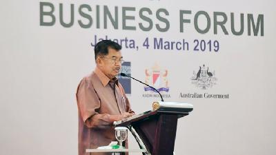 Jusuf Kalla: Employment Rate is Indicator of Nation's Development