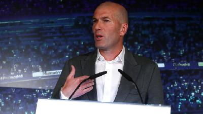 Real Madrid dan Perez di Pusaran European Super League, Ini Jawaban Zidane