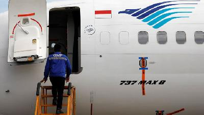 Police Follow Up Report Filed by Garuda Indonesia VP