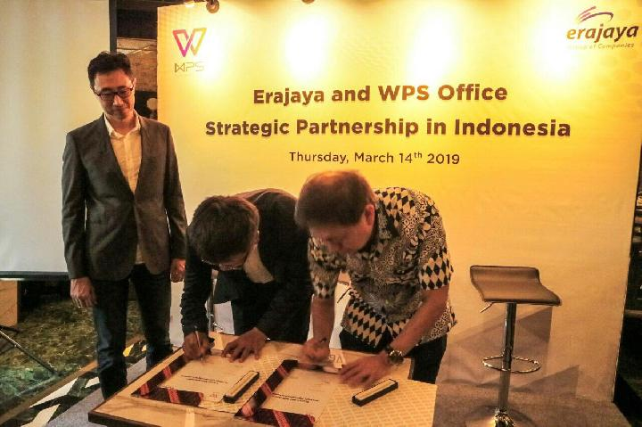 Erajaya Group Kerja Sama Strategis dengan WPS Office