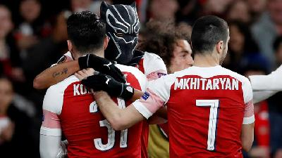 Arsenal Beat Rennes 3-0 to Reach to Europa Quarters