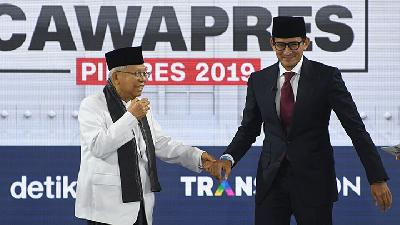 Jokowi Camp Calls Sandiaga`s National Exams Abolishment Absurd