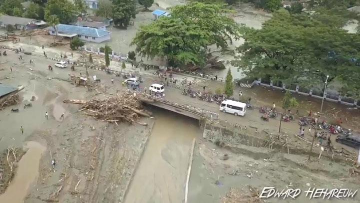 Dramatic Aftermath of Flash Floods in Sentani, Papua Province