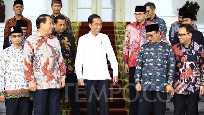 Jokowi Asks FBR to Secure Polling Stations during Election