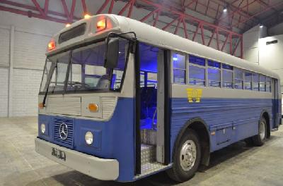 Deretan Bus Klasik di Pameran Indonesia Classic N Unique Bus 2019