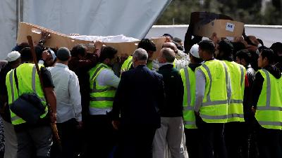 Funeral Begins for New Zealand Mosque Shooting Victims