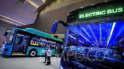Transjakarta to Launch Electric Bus Trial Run