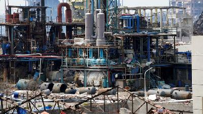 China Chemical Plant Blast Kills 64 People