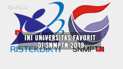 Ini Universitas Favorit di SNMPTN 2019
