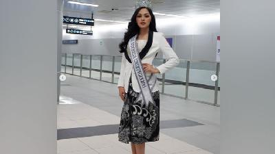 Jolene Rotinsulu Siap Jadi Wakil di Miss International 2019