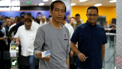 MRT Jakarta and Possible Hike of Jokowi's Electability