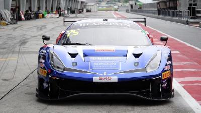 Blancpain GT Asia: Rio Haryanto Adapts to his Ferrari 488 GT3